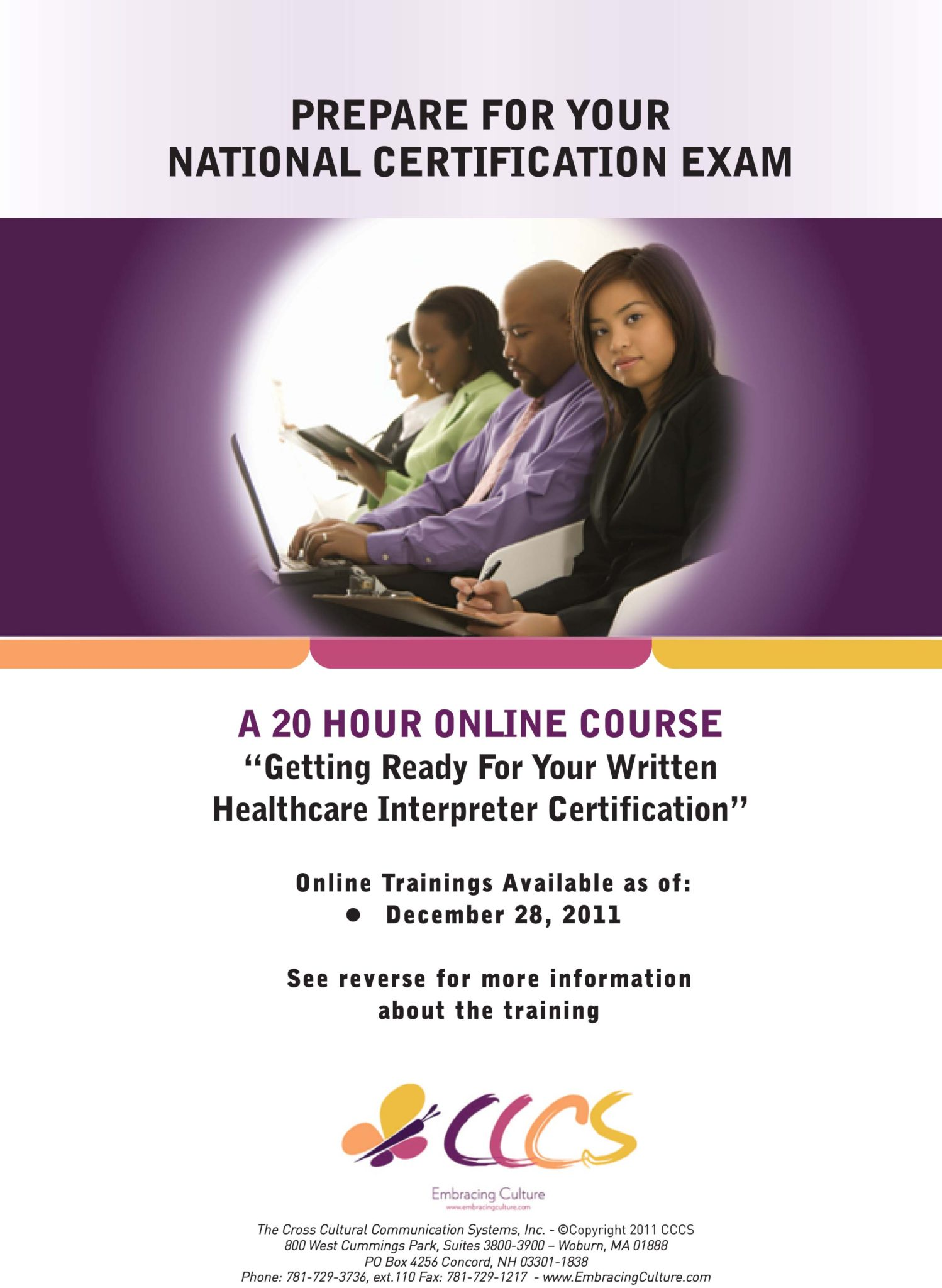 Getting Ready For Your Written Certification Exam Cccs