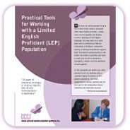 Practical Tools for Working with a Limited English Proficient (LEP) Population